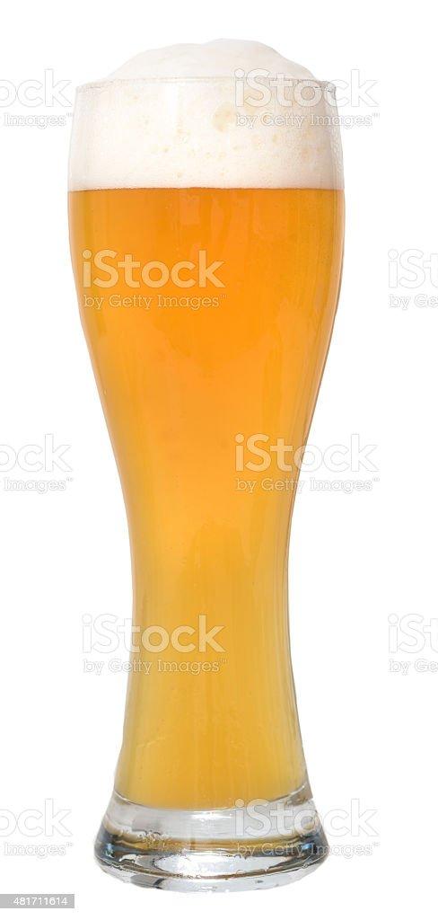 glass of weizenbeer / Weizenbier stock photo