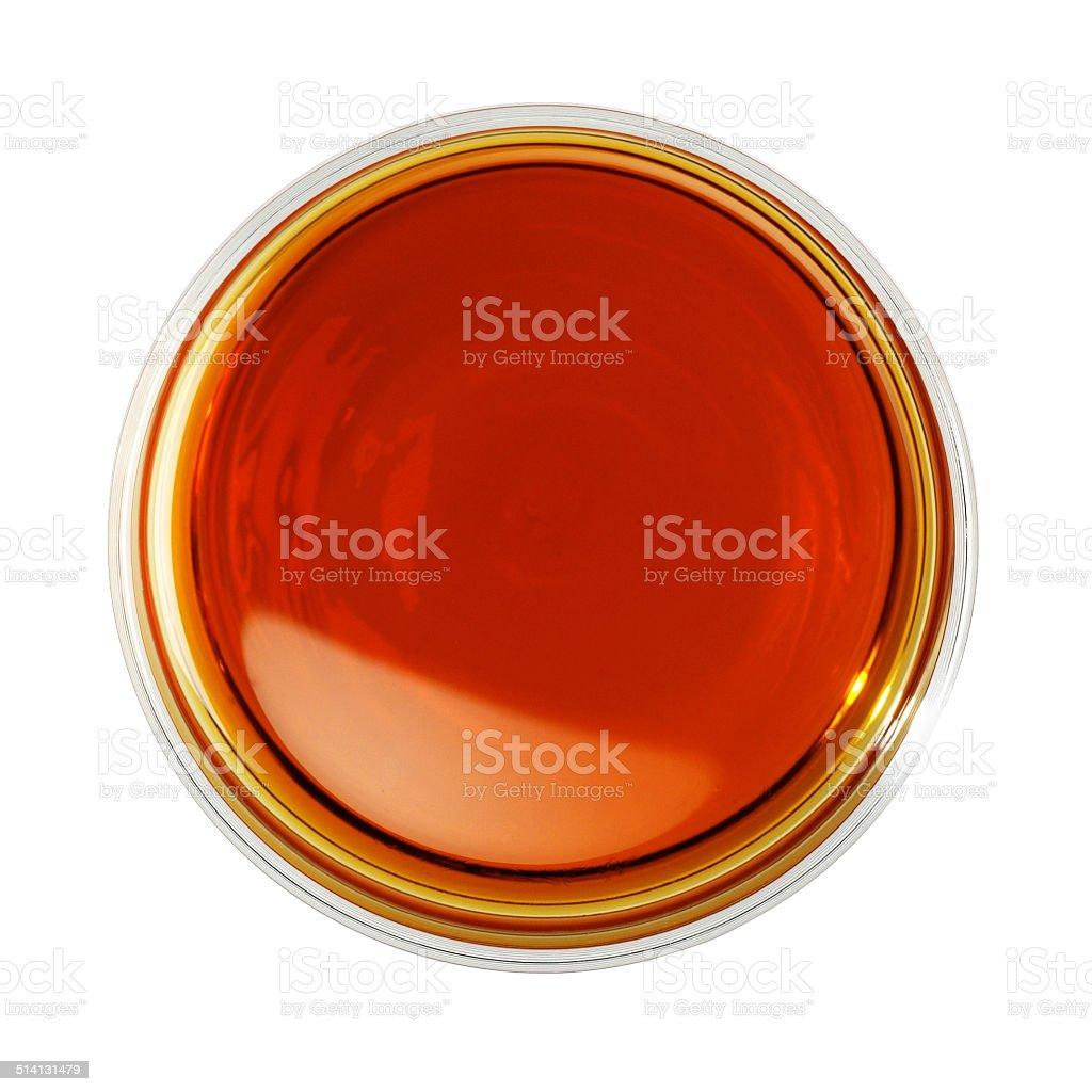 glass of whiskeys stock photo