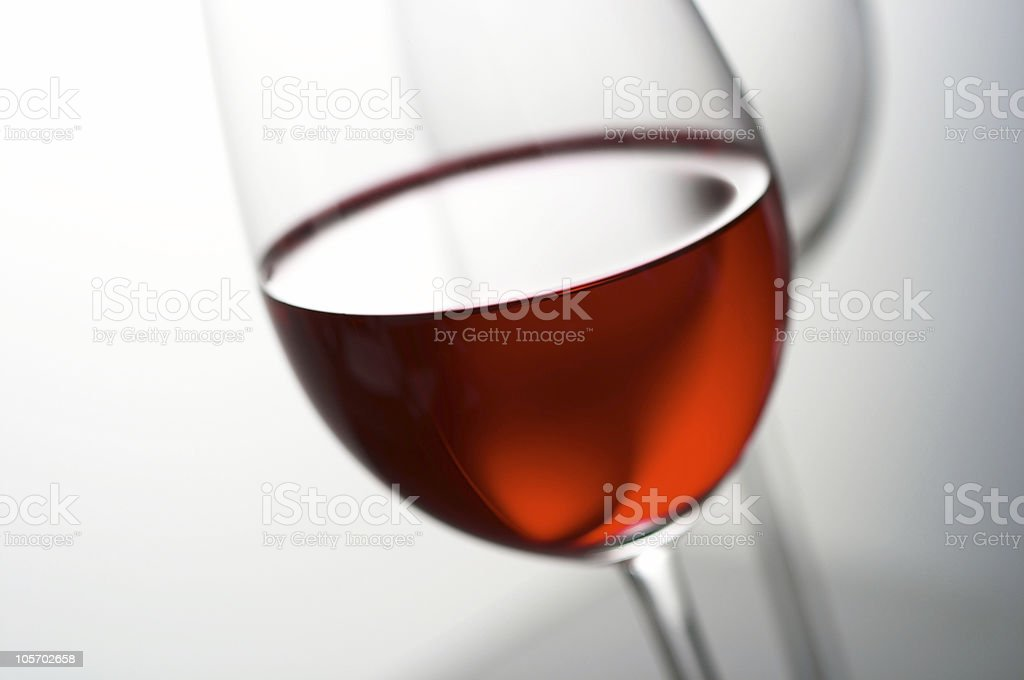 glass of wine (Feb2005) royalty-free stock photo