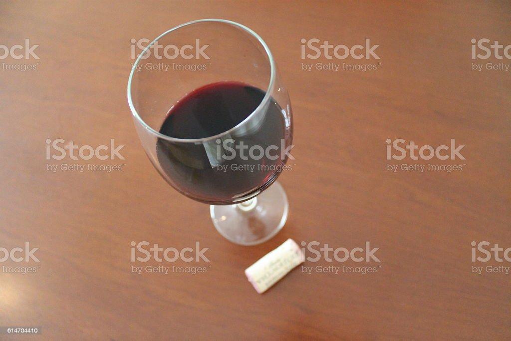 glass of wine stock photo
