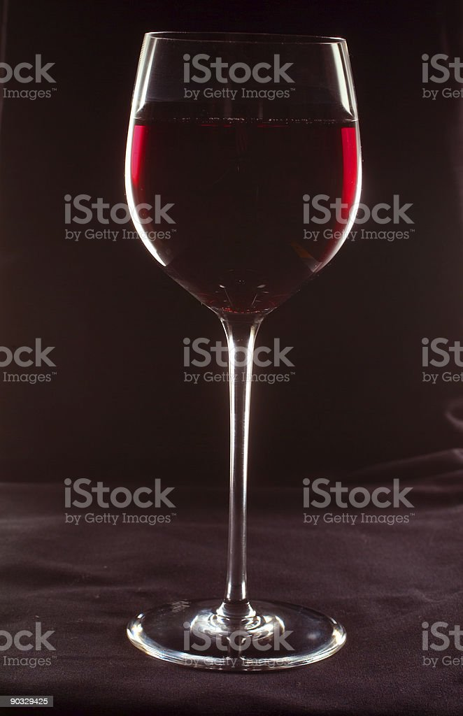 Glass of wine_07 stock photo