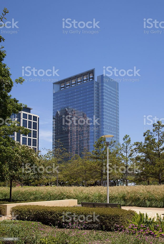 Glass Office block stock photo