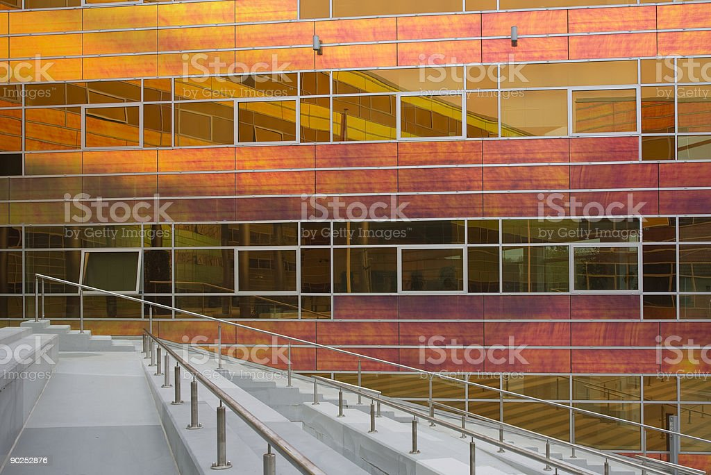 Glass office building 1 royalty-free stock photo