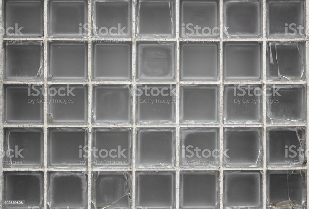 Glass on the wall stock photo