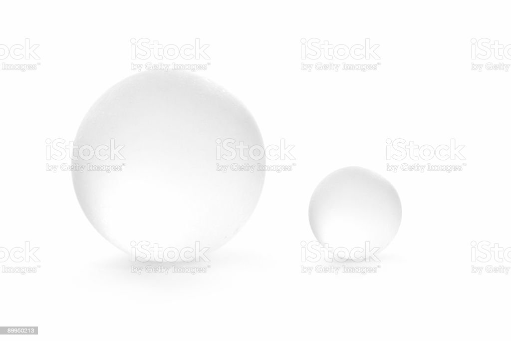 Glass Orbs royalty-free stock photo