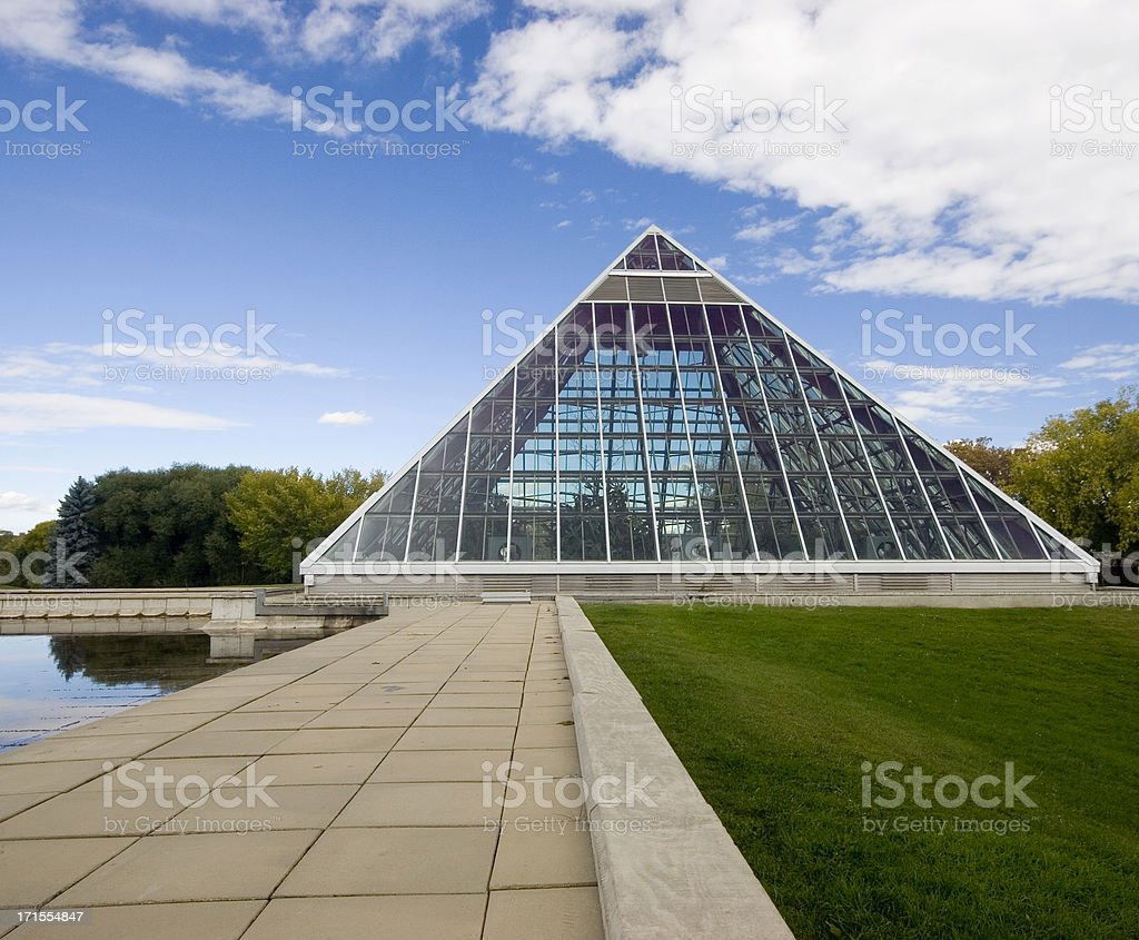 Glass Pyramid (Series two) royalty-free stock photo