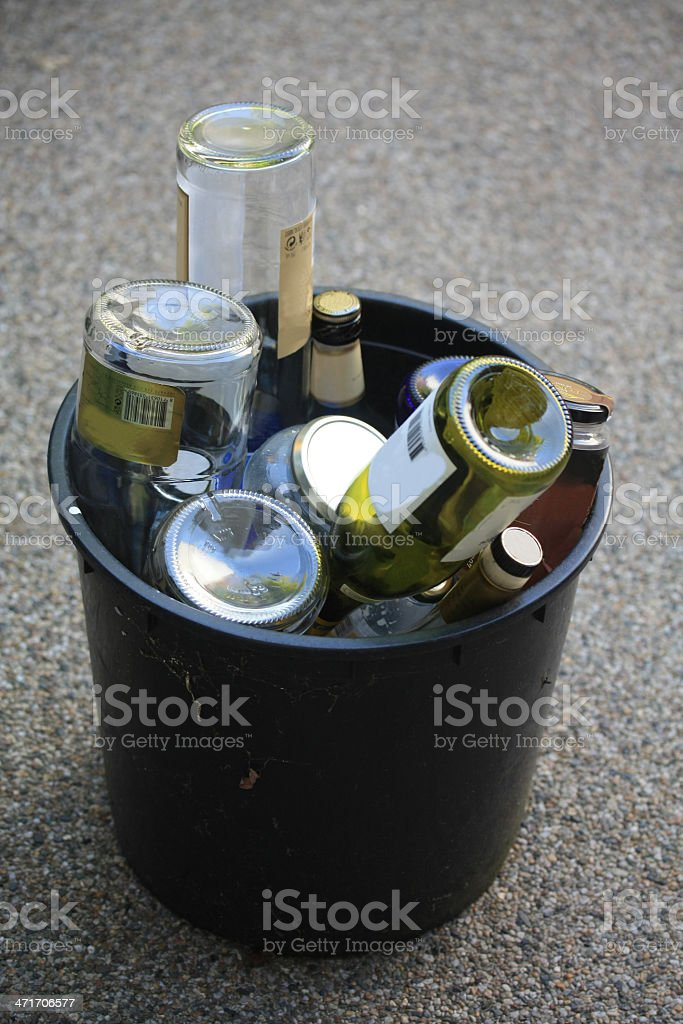 glas recycling royalty-free stock photo