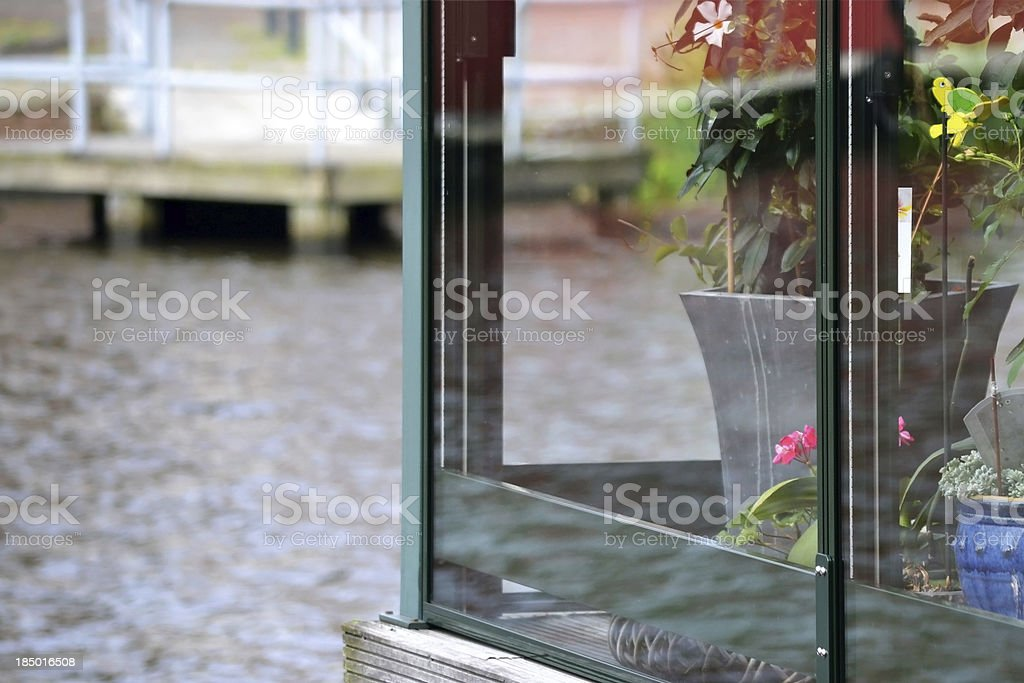 Glass reflection. royalty-free stock photo