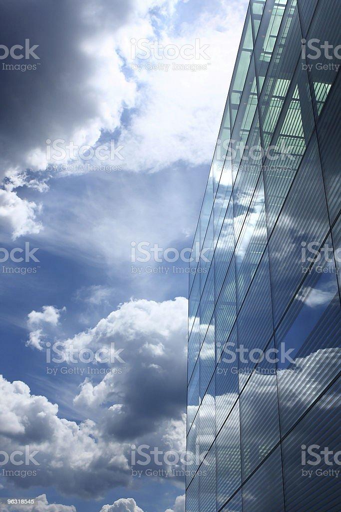 glass reflection royalty-free stock photo