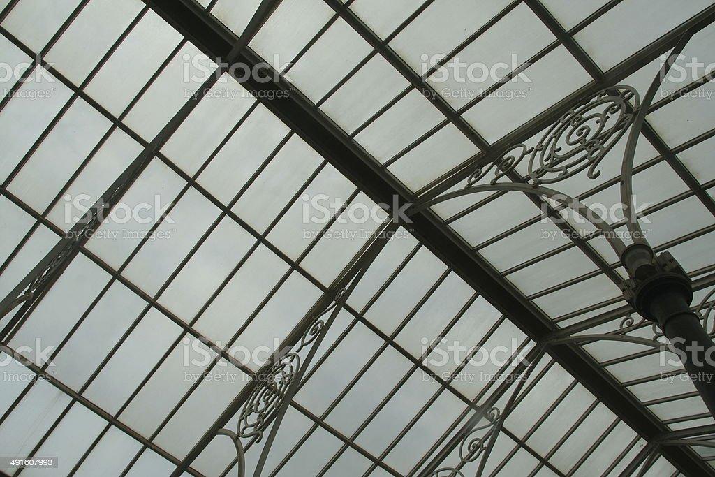 Glass Roof Pattern stock photo