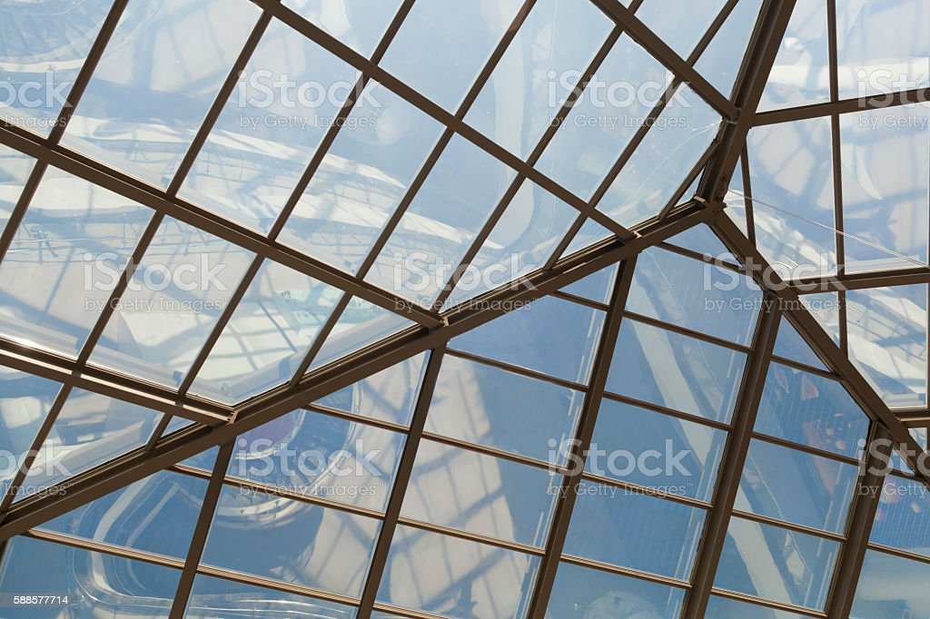 Glass Roof stock photo