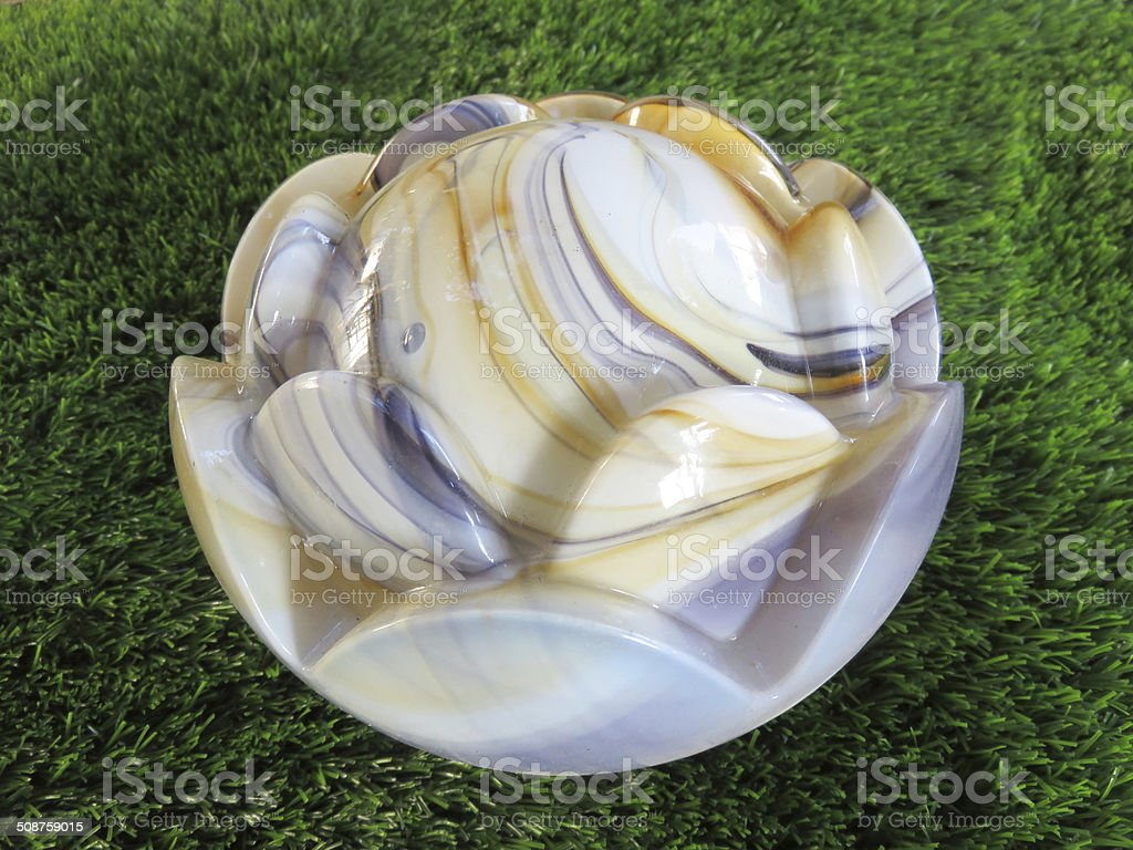 Glass shade stock photo