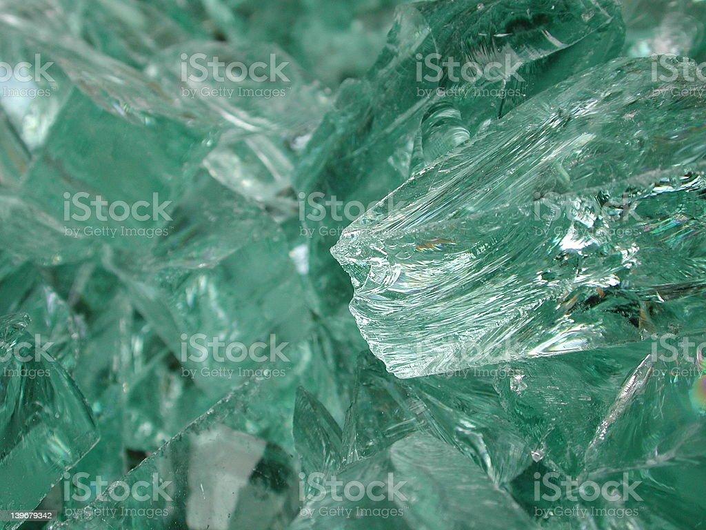 Glass Shards royalty-free stock photo
