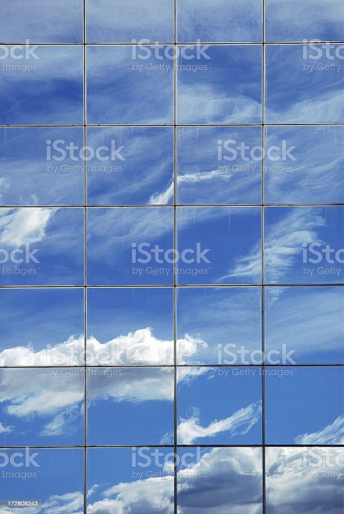 Glass sky royalty-free stock photo
