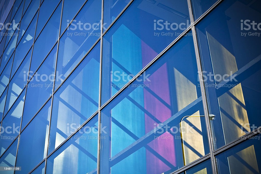 Glass Skyscraper Architecture stock photo