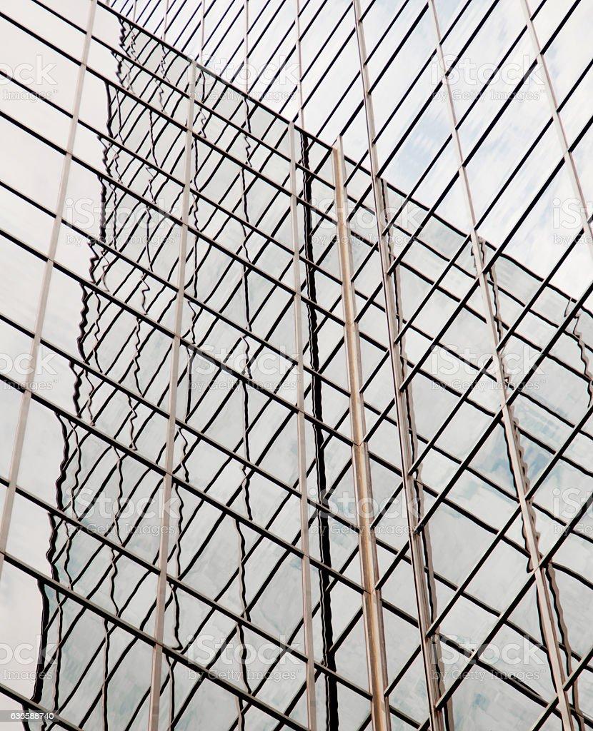 Glass Skyscraper stock photo