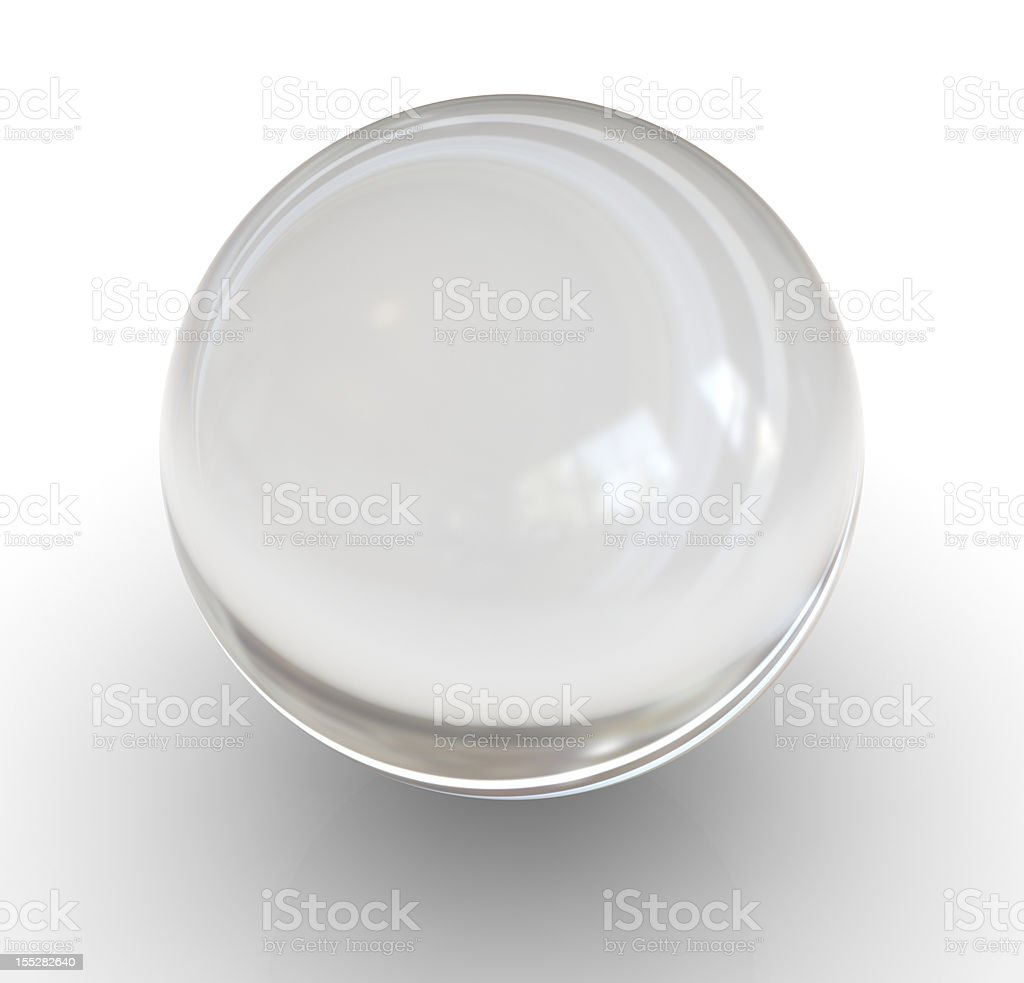 Glass Sphere stock photo