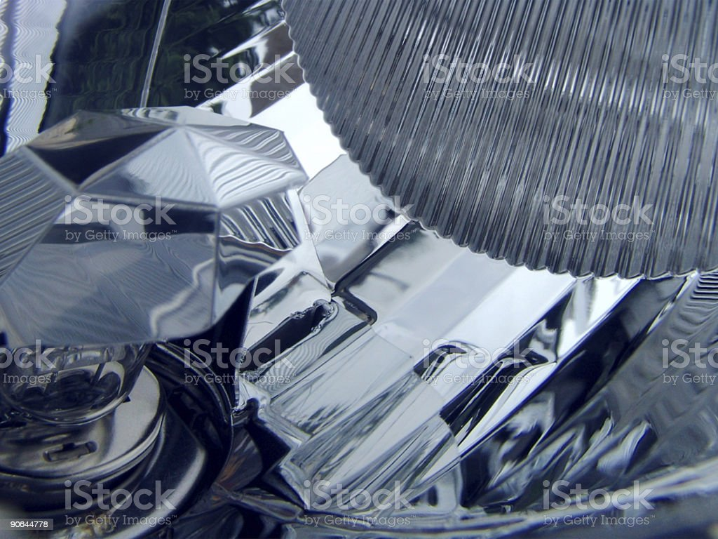 Glass - Structure. royalty-free stock photo