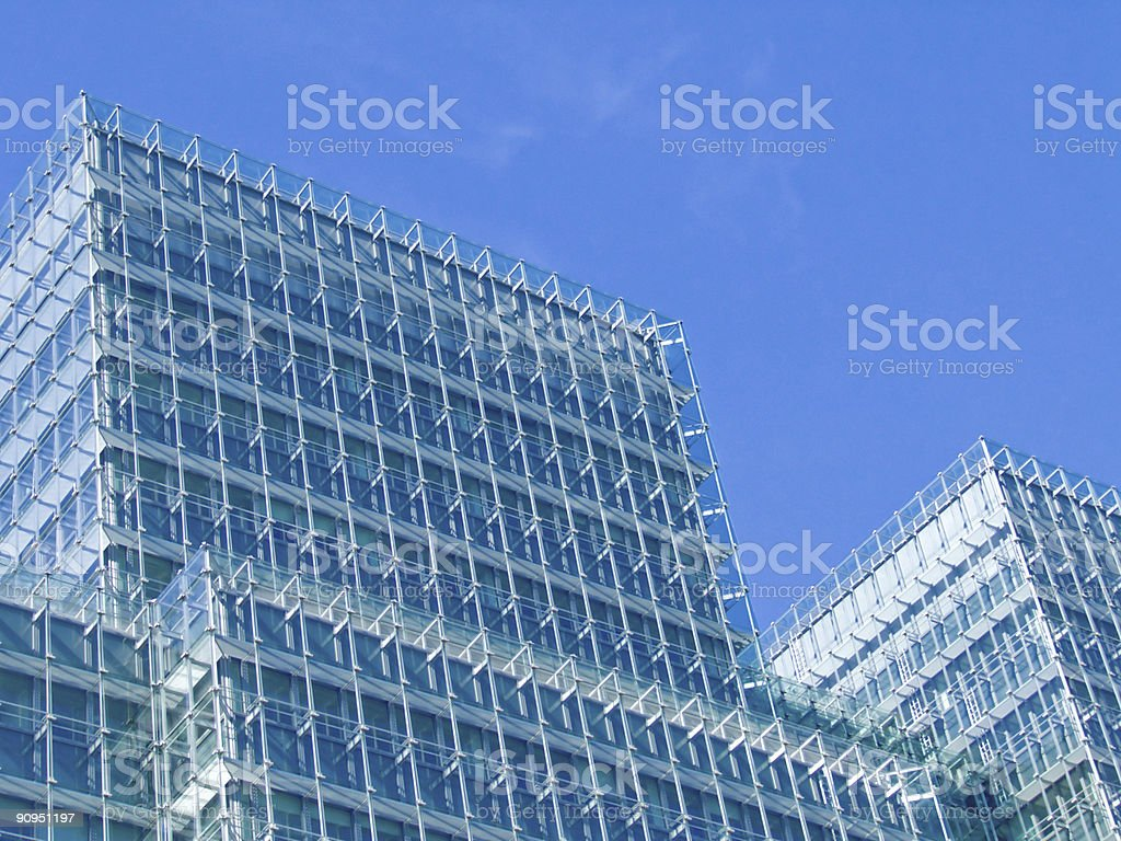 Glass structure royalty-free stock photo