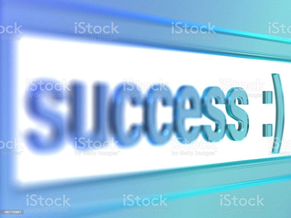 glass success royalty-free stock photo