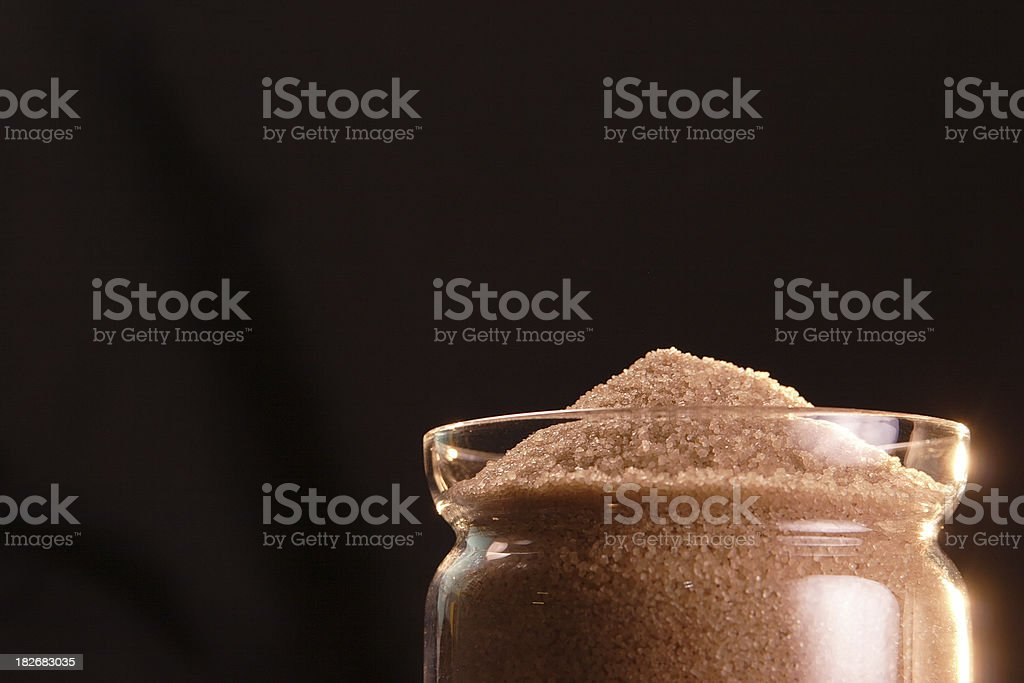 Glass Sugar Bowl royalty-free stock photo