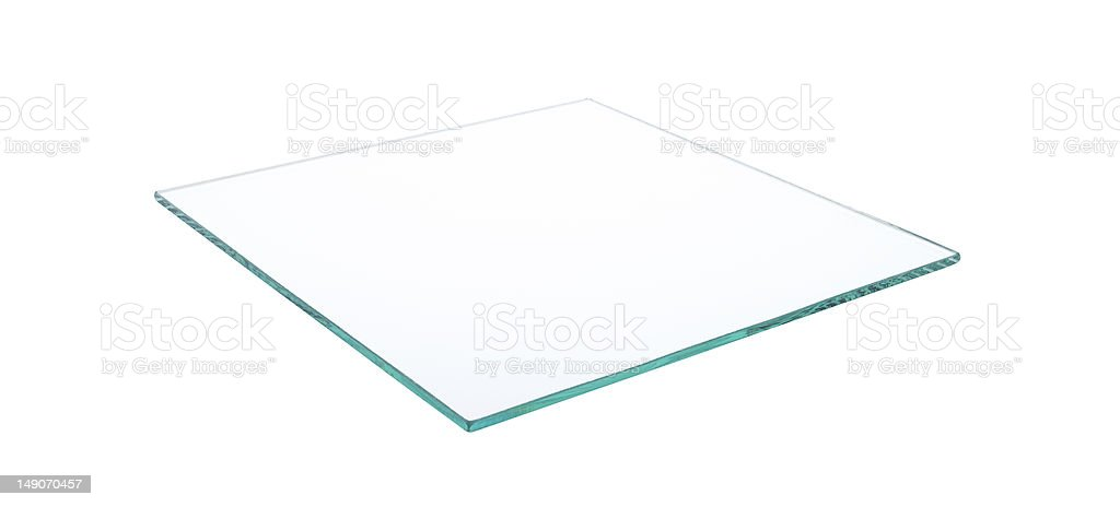 Glass Table Top stock photo