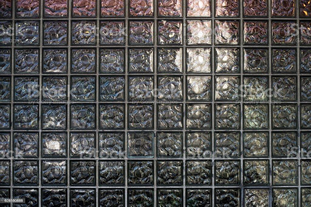 Glass Tile Window stock photo