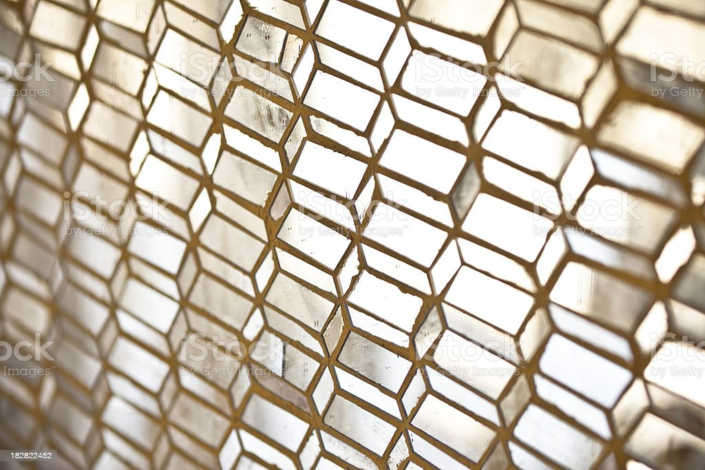 Glass tiled royalty-free stock photo