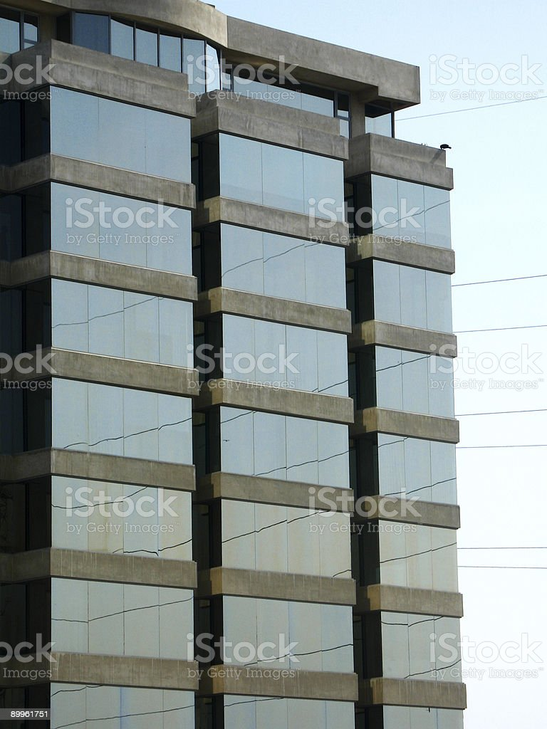 Glass tower royalty-free stock photo