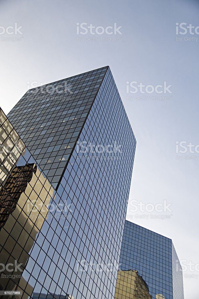 Glass towers royalty-free stock photo