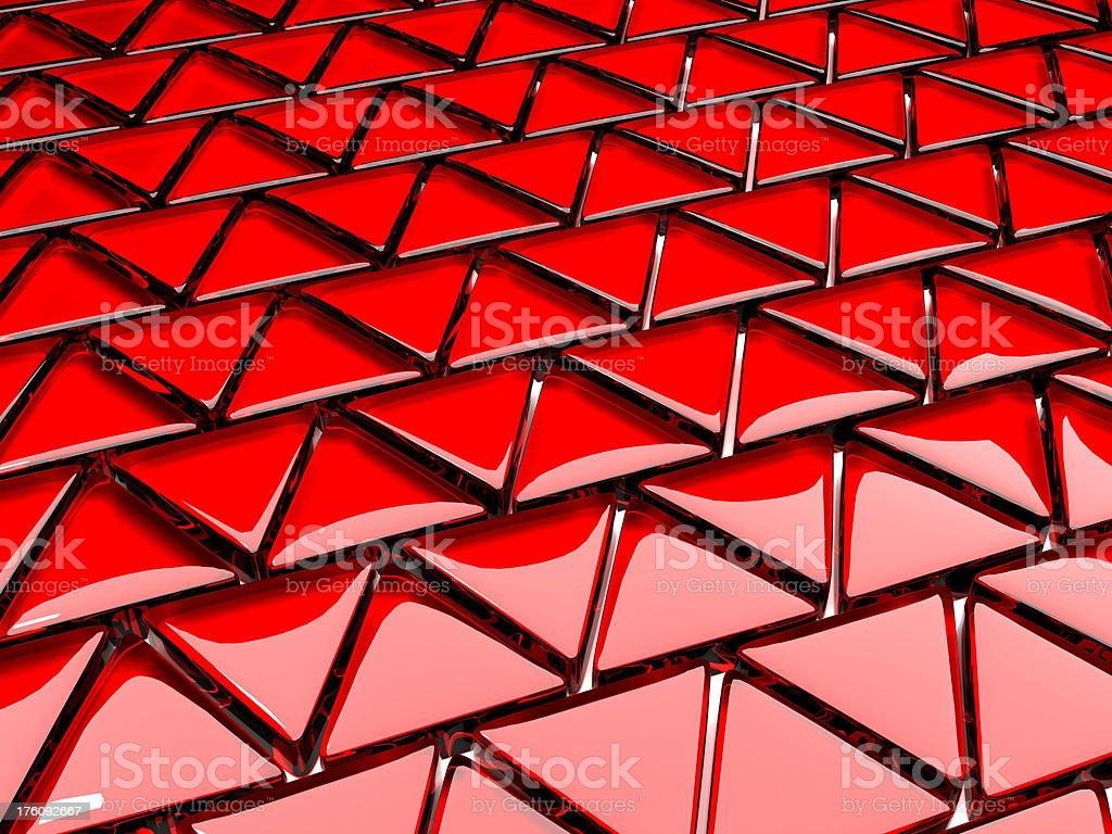 Glass triangle mosaic background royalty-free stock photo