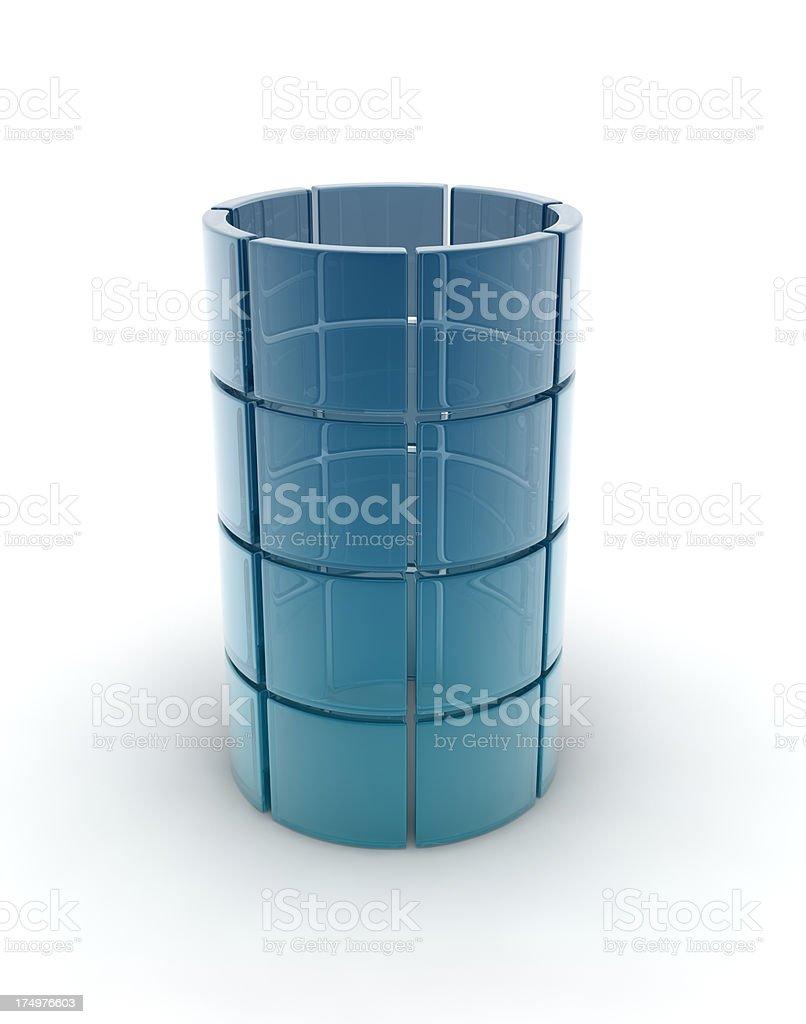glass tube royalty-free stock photo