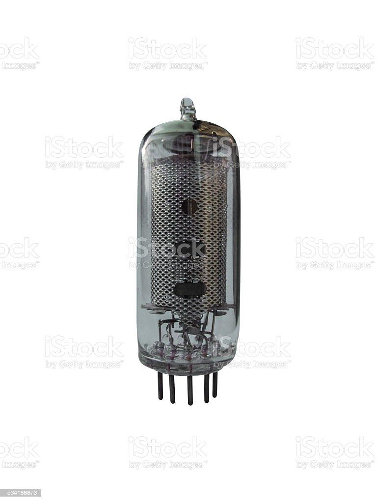glass vacuum tube royalty-free stock photo