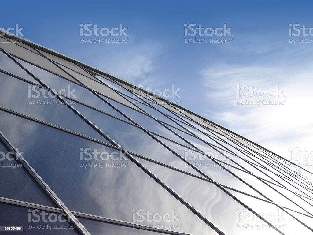 Glass Wall royalty-free stock photo