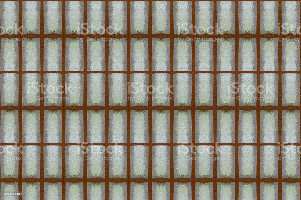 Glass wall toilet close stock photo