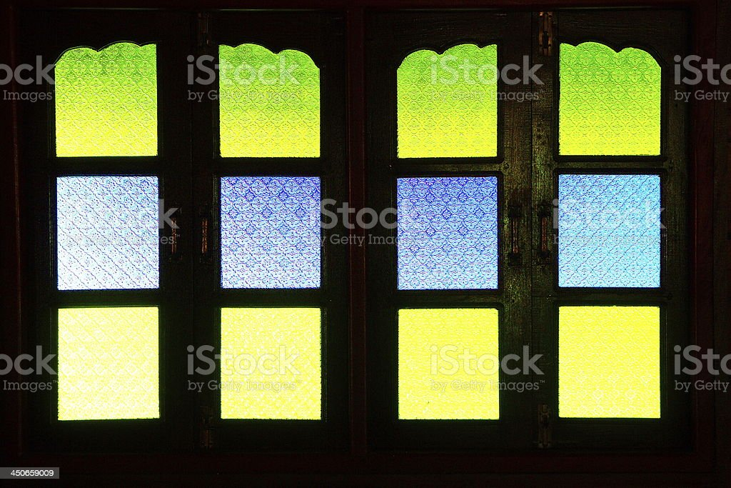 Glass windows. royalty-free stock photo