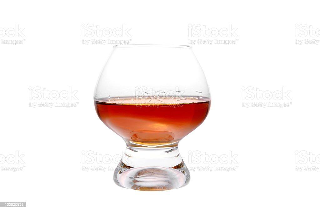 Verre à cognac photo libre de droits