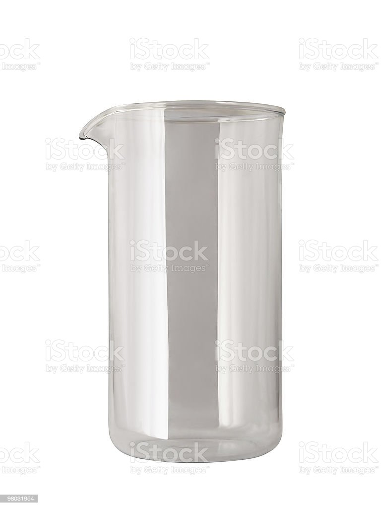 glass with neb royalty-free stock photo