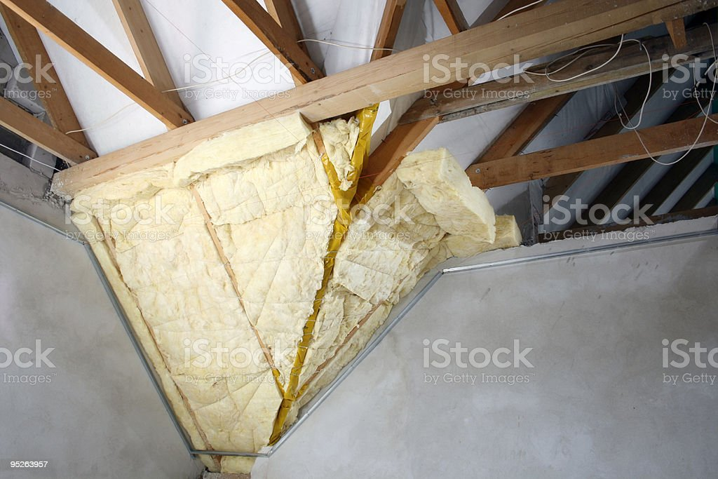 glass wool royalty-free stock photo