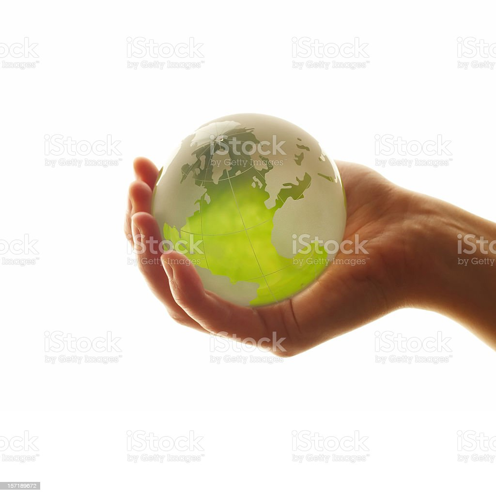 Glass World ( High Key ) royalty-free stock photo