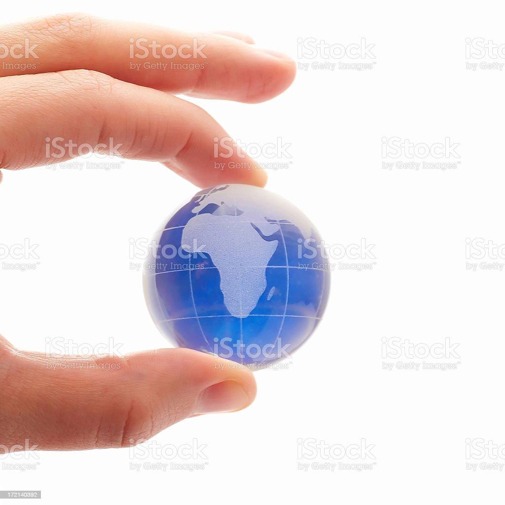 Glass World ( High Key ) royalty-free stock photo
