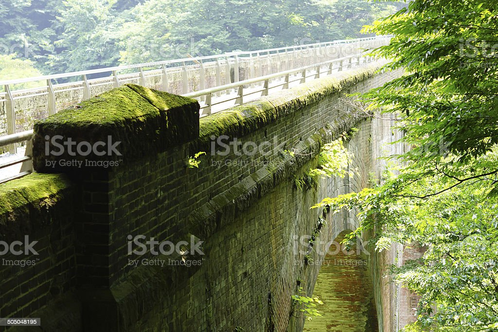 Glasses bridge stock photo