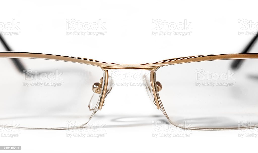 Glasses for sight stock photo