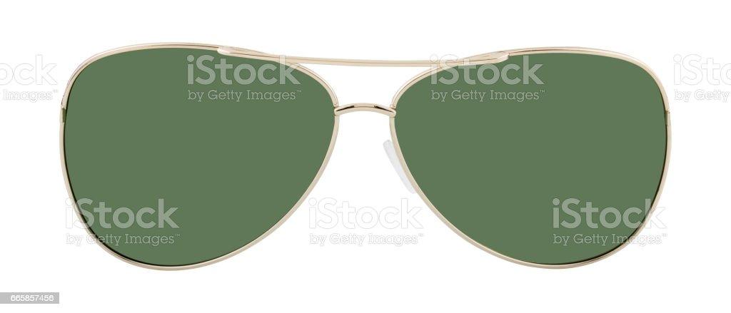 Glasses isolated on white background stock photo