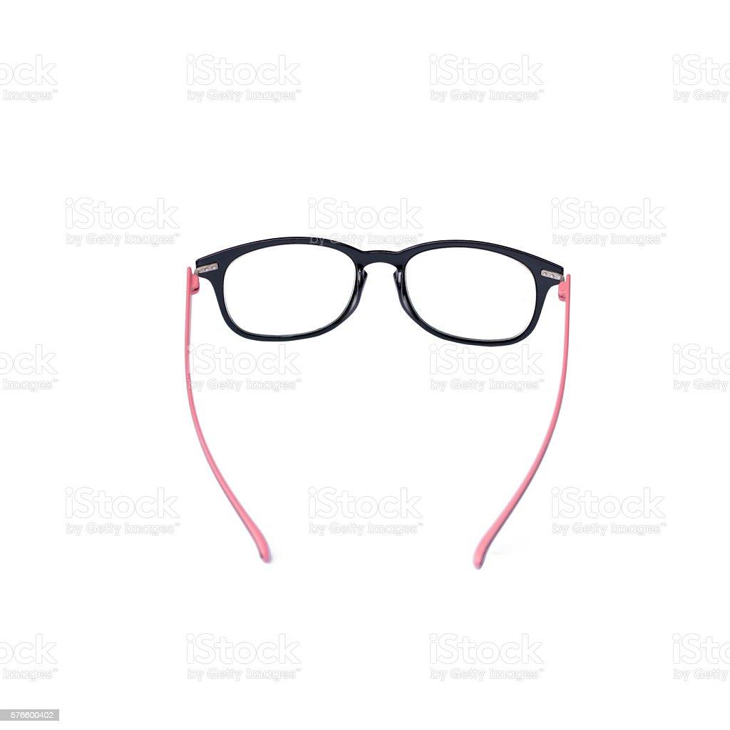 Glasses Isolated on White stock photo