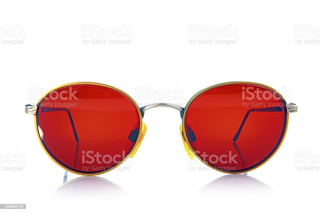 Glasses Isolated royalty-free stock photo