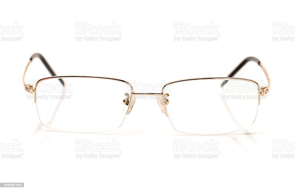 glasses of gold color stock photo