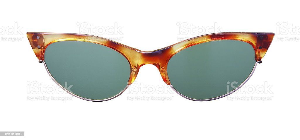 Glasses on white. royalty-free stock photo
