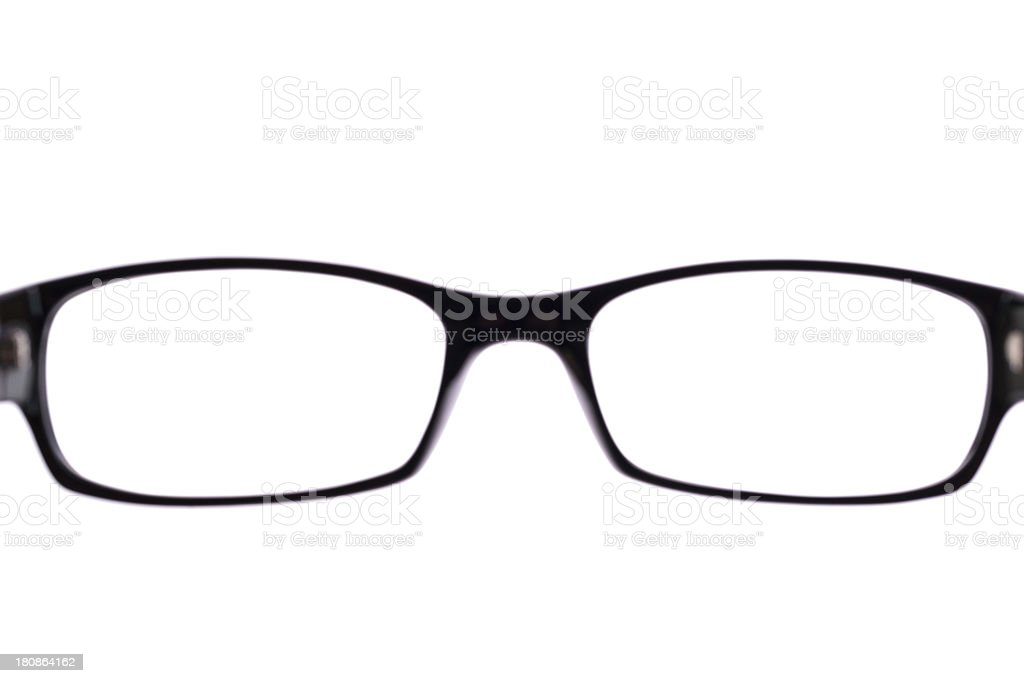 glasses (clipping path) royalty-free stock photo