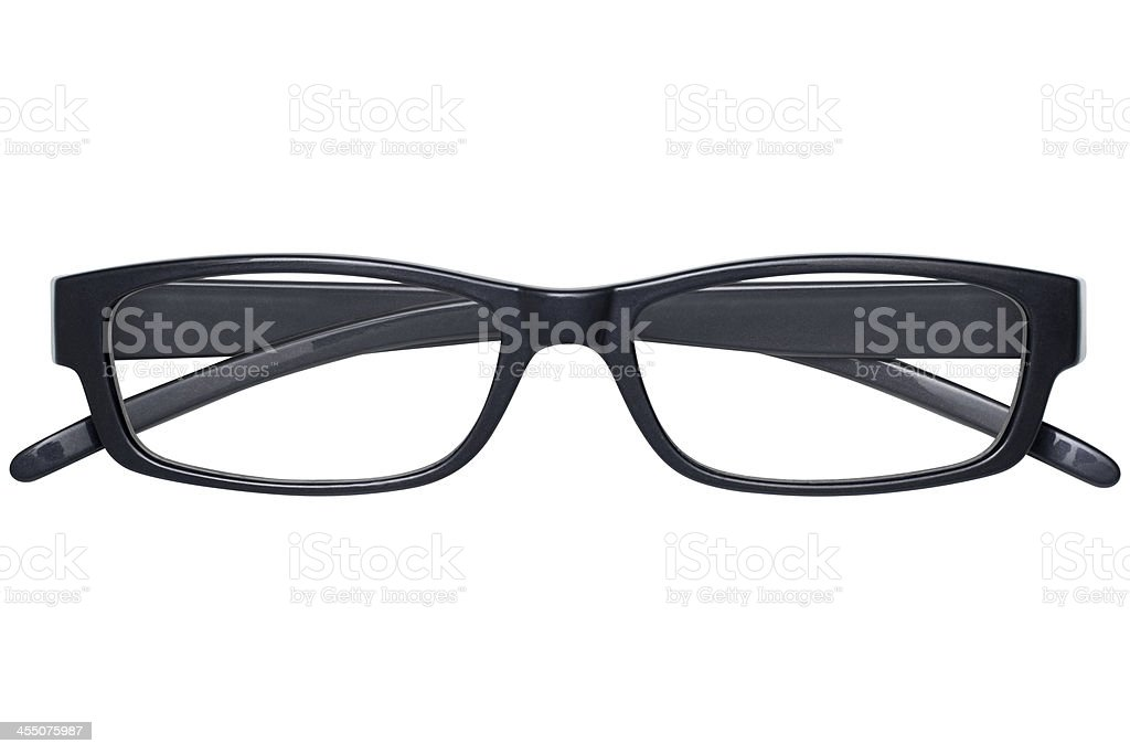 Glasses With Clipping Path stock photo